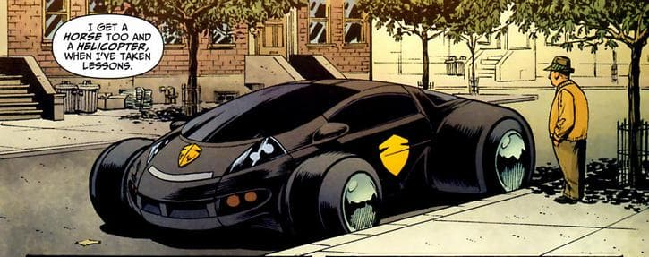 Guardian Mobile on Random Best and Worst Vehicles in DC Comics