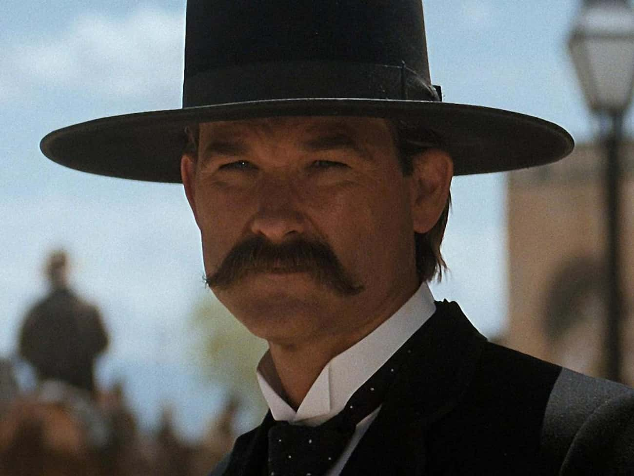 Wyatt Earp is listed (or ranked) 2 on the list The Best Mustaches in Film