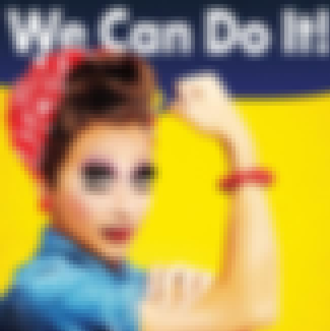 Bianca Del Rio is listed (or ranked) 3 on the list 16 Celebrities as Rosie the Riveter