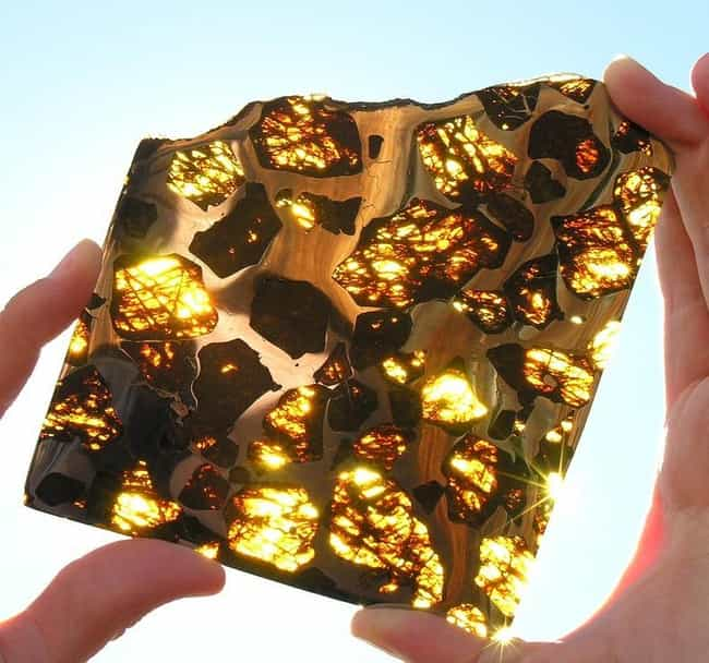 Fukang Meteorite is listed (or ranked) 1 on the list 20 Amazing Photos of Everyday Things Cut in Half
