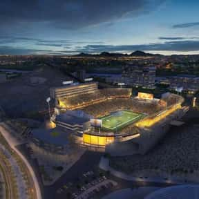 Sun Devil Stadium is listed (or ranked) 21 on the list The Best College Football Stadiums