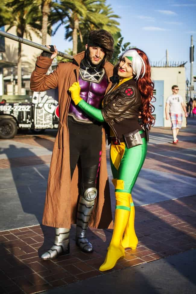 Gambit and Rogue is listed (or ranked) 1 on the list Cosplayers Who Stepped Right Out of the Comics