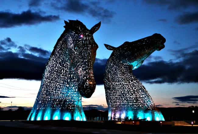 Kelpies is listed (or ranked) 1 on the list The Most Amazing Statues in the World