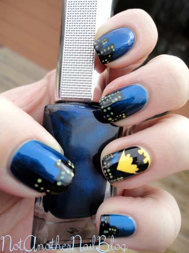 100 Awesomely Geeky Manicures | Cool Geek Nail Art