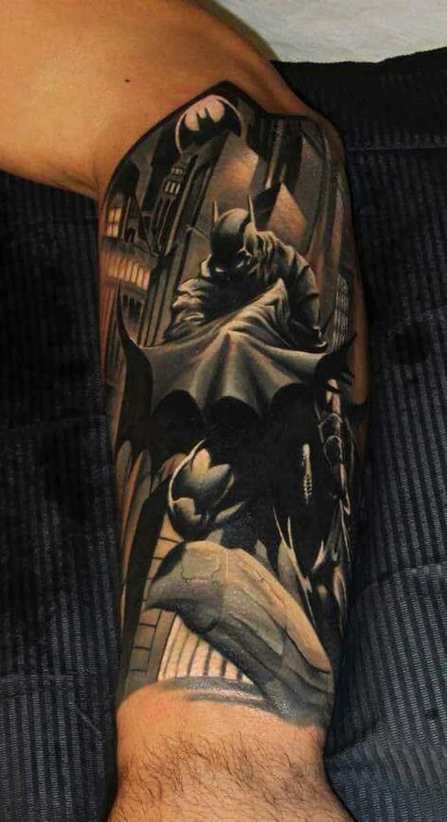 The Coolest Best DC Comics Tattoos - Design your own tattoo game