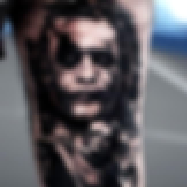 Greyscale Joker is listed (or ranked) 4 on the list The Best DC Comics Tattoos