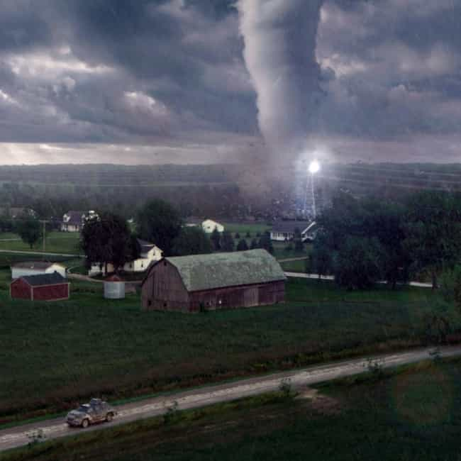 This One Is Bigger Than Any St... is listed (or ranked) 1 on the list Into the Storm Movie Quotes