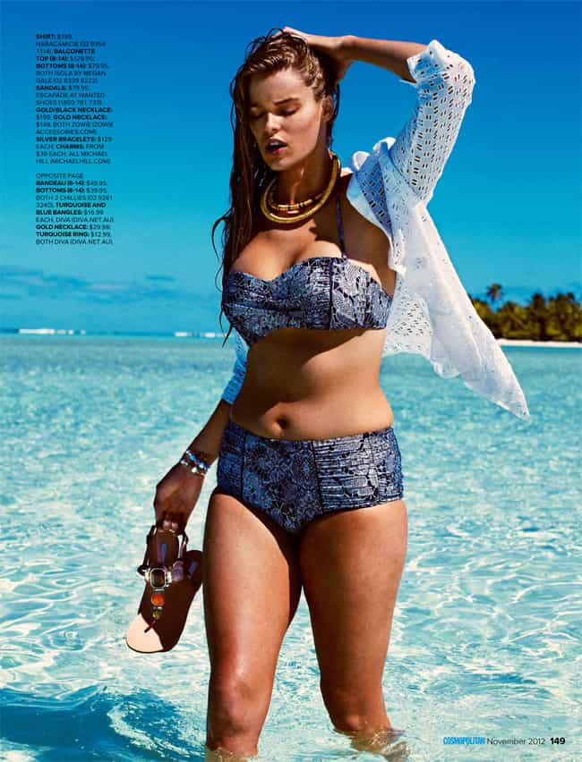 I didn't want to take my s... is listed (or ranked) 3 on the list The Hottest Robyn Lawley Photos