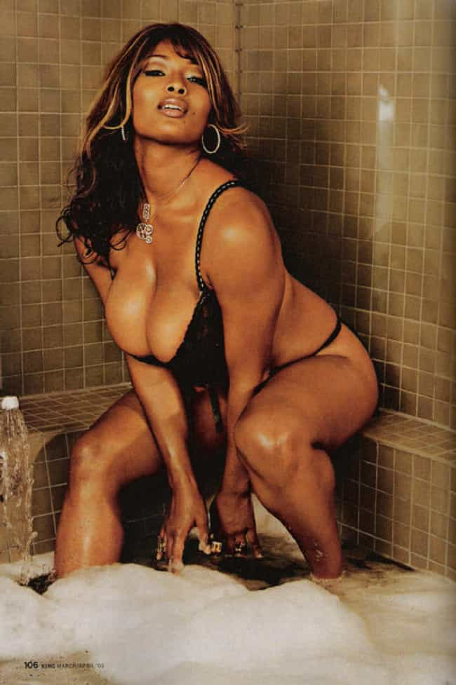 I'm about to fall over. is listed (or ranked) 1 on the list The Hottest Toccara Jones Photos