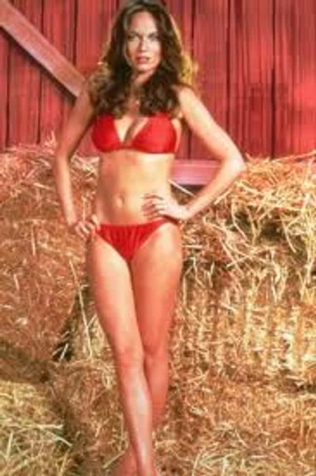 Standing near some hay in a bi... is listed (or ranked) 4 on the list The Hottest Catherine Bach Photos