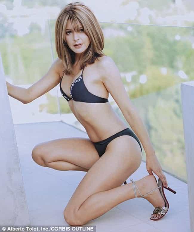 Jane Leeves in Black Bikini is listed (or ranked) 2 on the list Hot Jane Leeves Pics