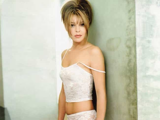 Jane Leeves in Crop Lace Under... is listed (or ranked) 3 on the list Hot Jane Leeves Pics