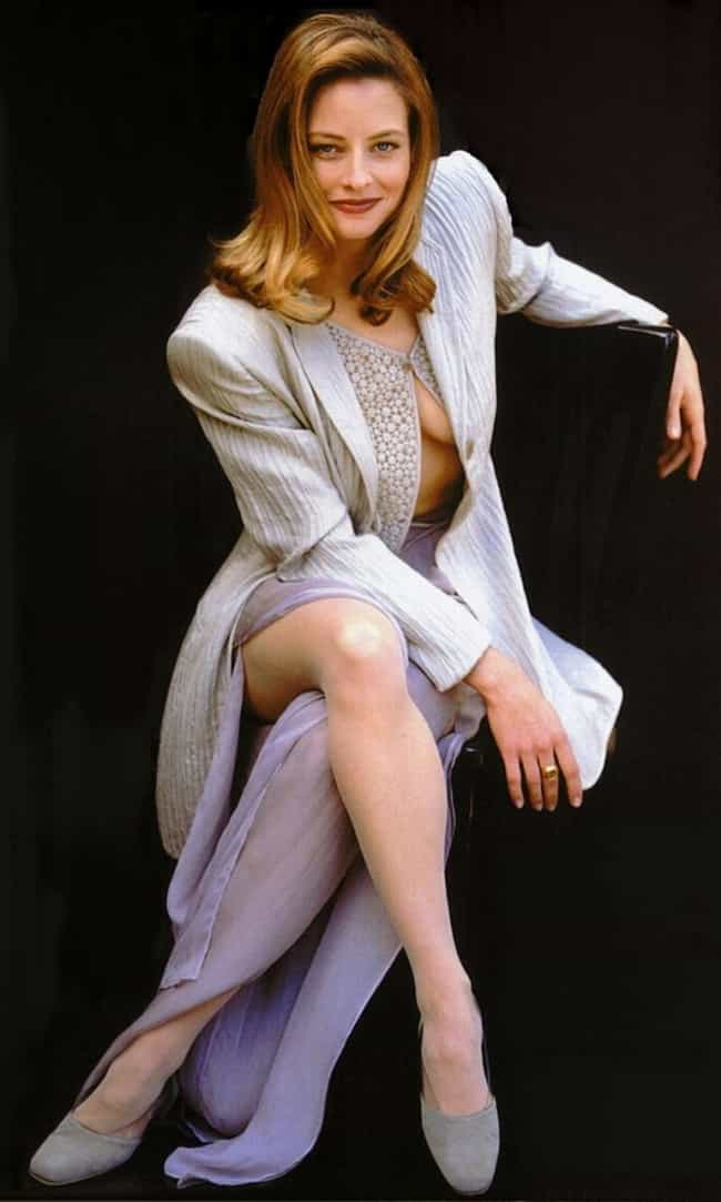 Jodie Foster in Gray Slit Skir... is listed (or ranked) 1 on the list The Hottest Jodie Foster Pictures