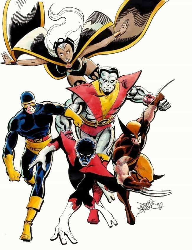 Claremont/Byrne X-Men is listed (or ranked) 1 on the list The Greatest X-Men Rosters of All Time