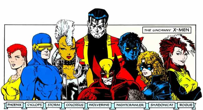 80's X-Men is listed (or ranked) 3 on the list The Greatest X-Men Rosters of All Time
