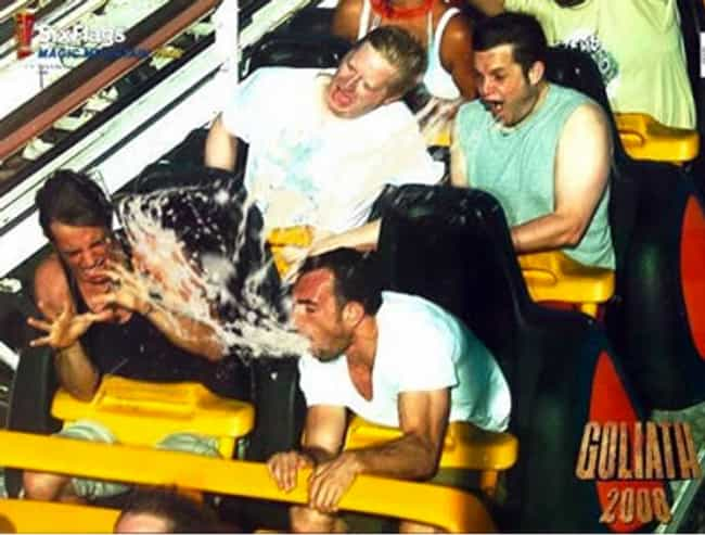 Haha the People in the B... is listed (or ranked) 8 on the list The 55 Greatest Rollercoaster Pics Ever Taken