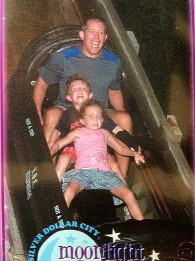 This Child Facing Her Mo... is listed (or ranked) 6 on the list The 55 Greatest Rollercoaster Pics Ever Taken