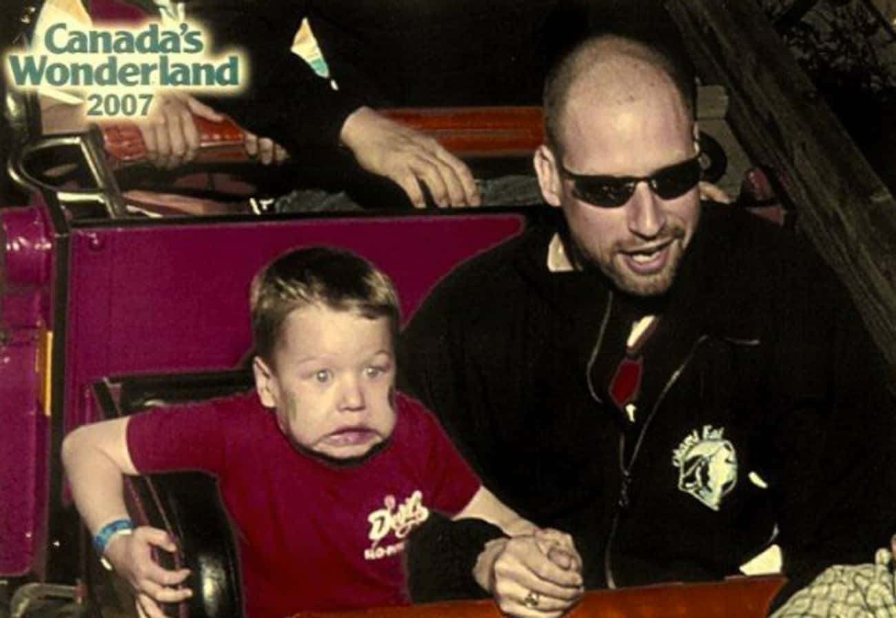 Must... Grab... On is listed (or ranked) 3 on the list The 39 Greatest Rollercoaster Pics Ever Taken