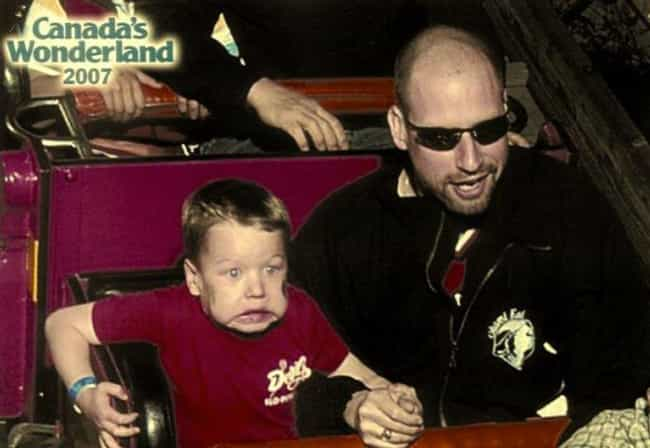 This Kid Who Can't Follo... is listed (or ranked) 3 on the list The 55 Greatest Rollercoaster Pics Ever Taken