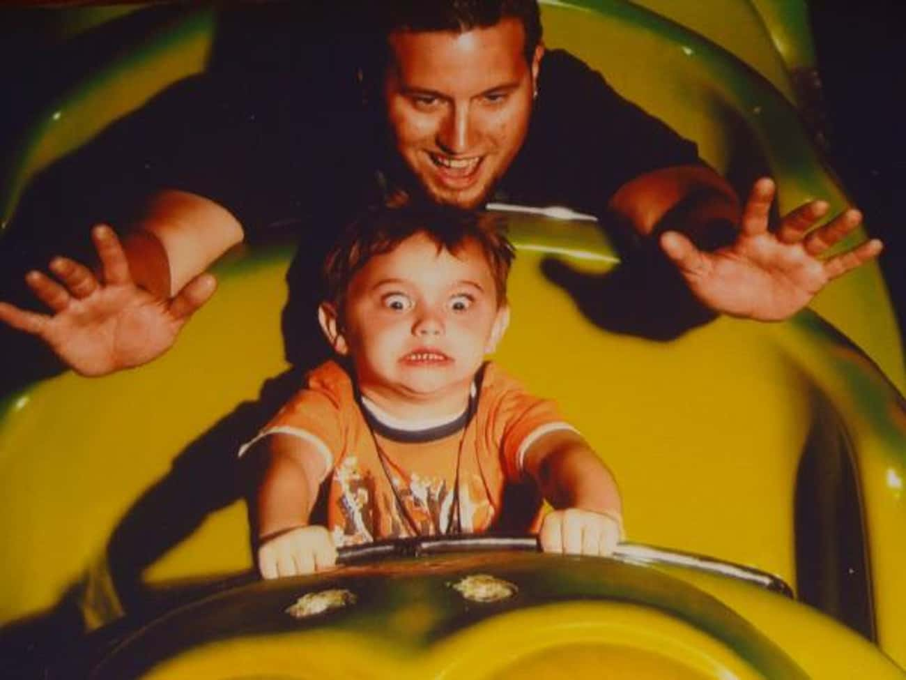Having A Great Time is listed (or ranked) 4 on the list The 39 Greatest Rollercoaster Pics Ever Taken