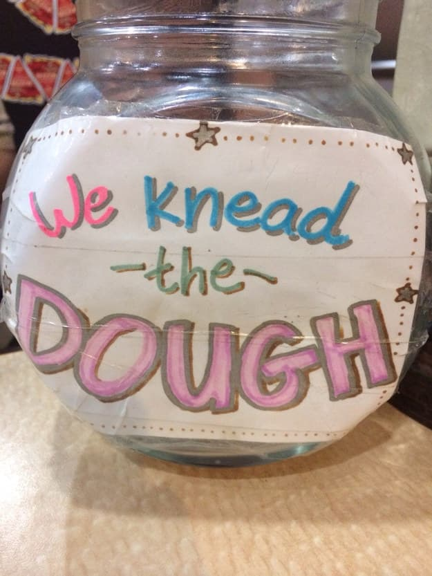 Ha, I Get It on Random Funny Tip Jars That Would Earn Your Quarters