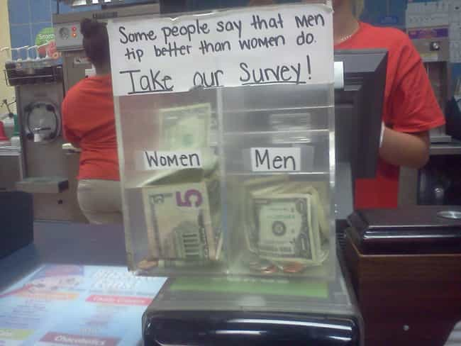 Women Ftw is listed (or ranked) 1 on the list 16 Funny Tip Jars That Would Earn Your Quarters
