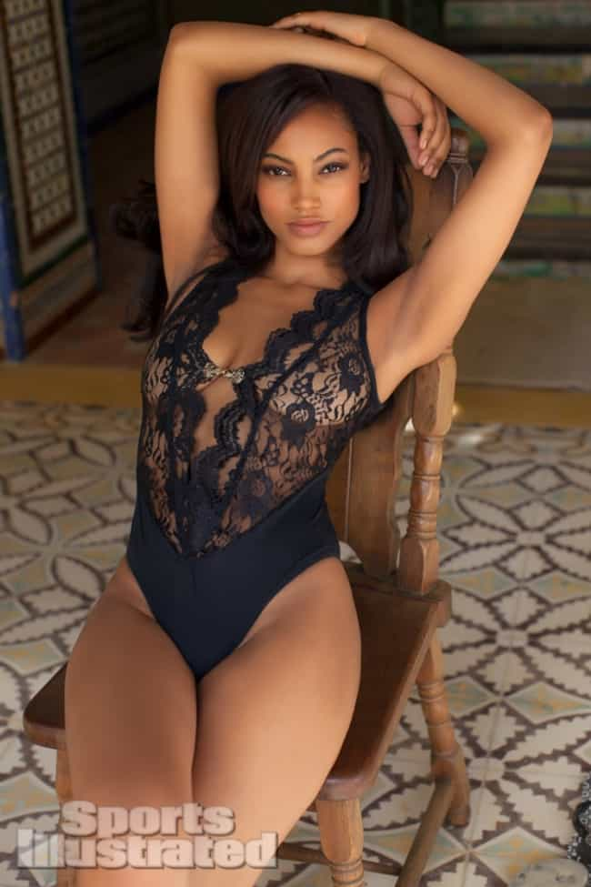 Ariel Meredith in Black Lace M... is listed (or ranked) 1 on the list The Steamiest Ariel Meredith Photos