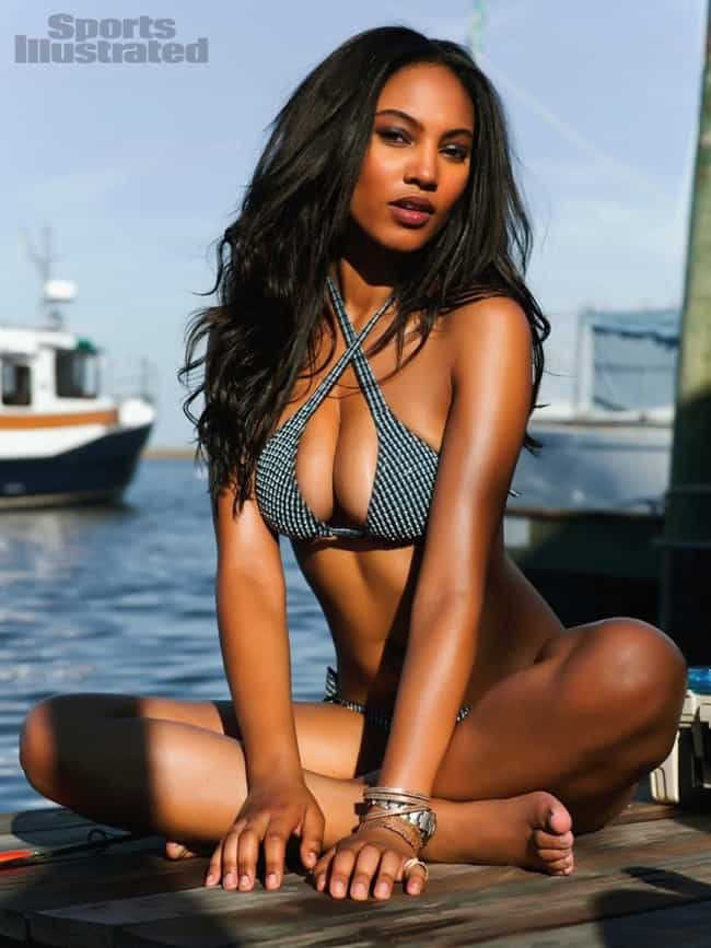 Ariel Meredith in Checkered Cr... is listed (or ranked) 4 on the list The Steamiest Ariel Meredith Photos
