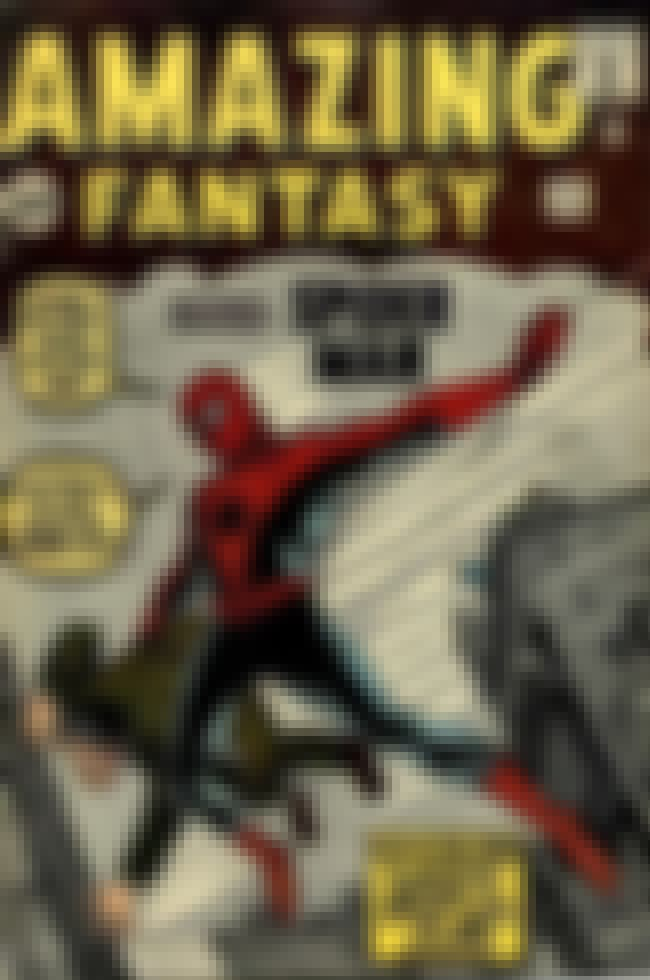 Amazing Fantasy #15 is listed (or ranked) 1 on the list The Greatest Superhero Comic Book Covers of All Time