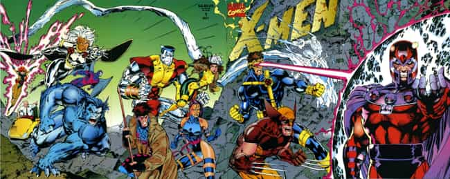 X-Men #1 is listed (or ranked) 1 on the list The 20 Best Comic Book Covers of the '90s