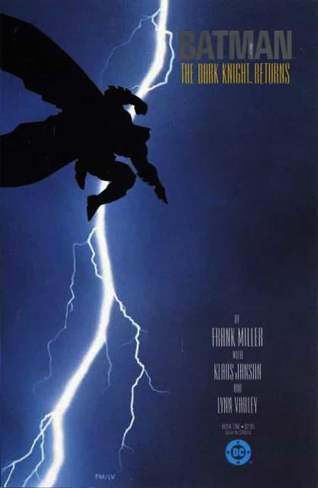 Batman: the Dark Knight ... is listed (or ranked) 3 on the list The Greatest Superhero Comic Book Covers of All Time