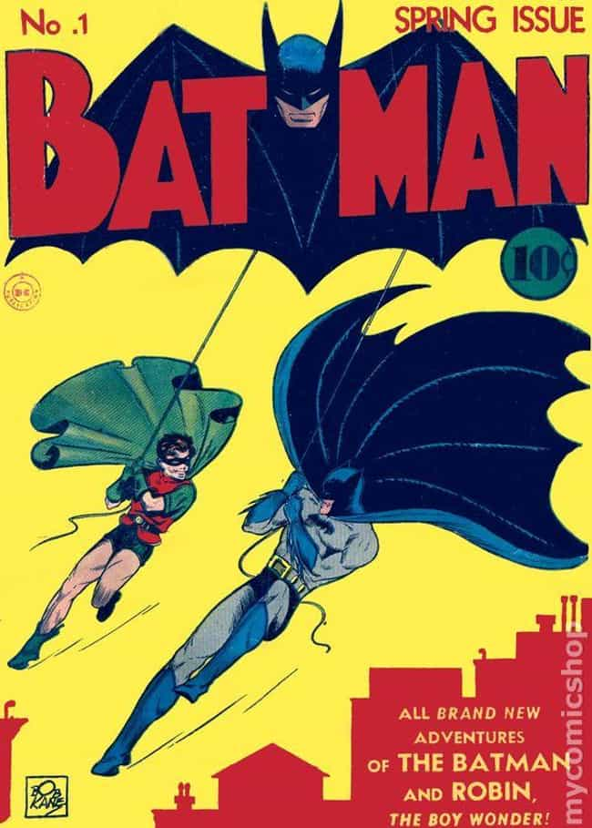 Batman #1 is listed (or ranked) 1 on the list The 100 Best Comic Book Covers of the 1940s