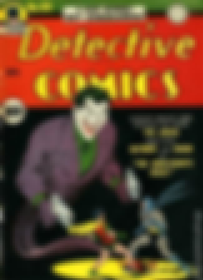 Detective Comics #69 is listed (or ranked) 3 on the list The 100 Best Comic Book Covers of the 1940s