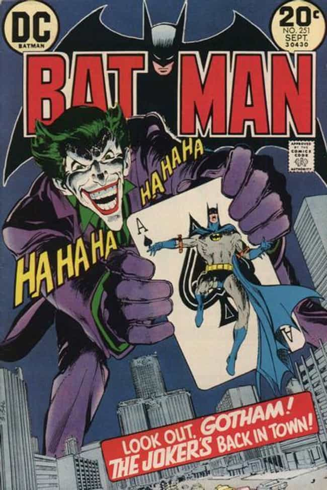 Batman #251 is listed (or ranked) 1 on the list The Greatest Superhero Comic Book Covers of All Time