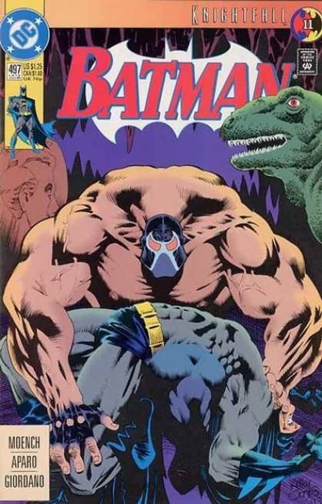 Batman #497 is listed (or ranked) 3 on the list The 20 Best Comic Book Covers of the '90s