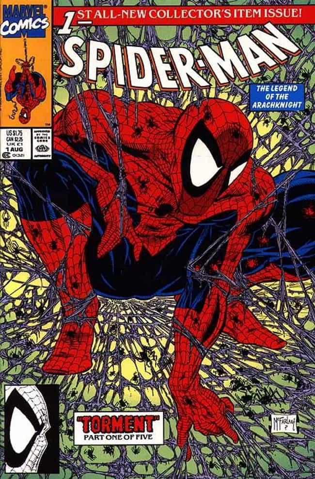 Spider-Man (Vol.2) #1 is listed (or ranked) 1 on the list The Greatest Superhero Comic Book Covers of All Time