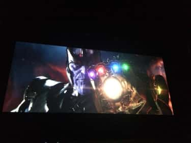 Avengers: Infinity War is listed (or ranked) 2 on the list Superhero Films You're Most Excited For