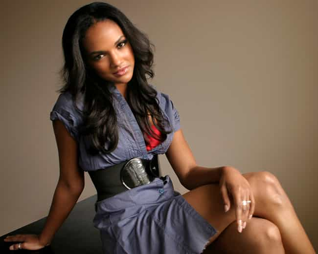 Mekia Cox in a Belted Button D... is listed (or ranked) 3 on the list Hottest Mekia Cox Photos