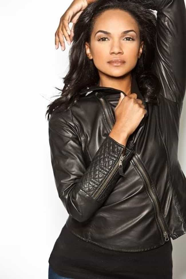 Mekia Cox in a Leather Jacket is listed (or ranked) 4 on the list Hottest Mekia Cox Photos