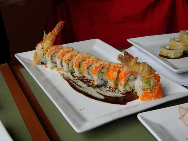 Tiger Roll is listed (or ranked) 1 on the list The Most Delicious Types of Sushi Rolls