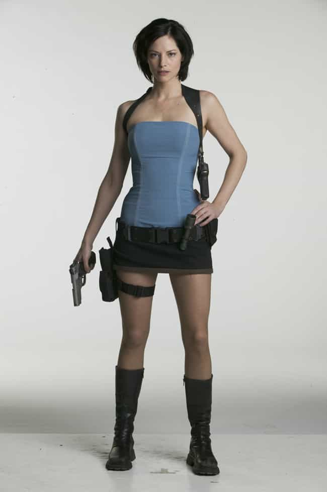 Sienna Guillory in a Blue Tube... is listed (or ranked) 1 on the list Hottest Sienna Guillory Photos