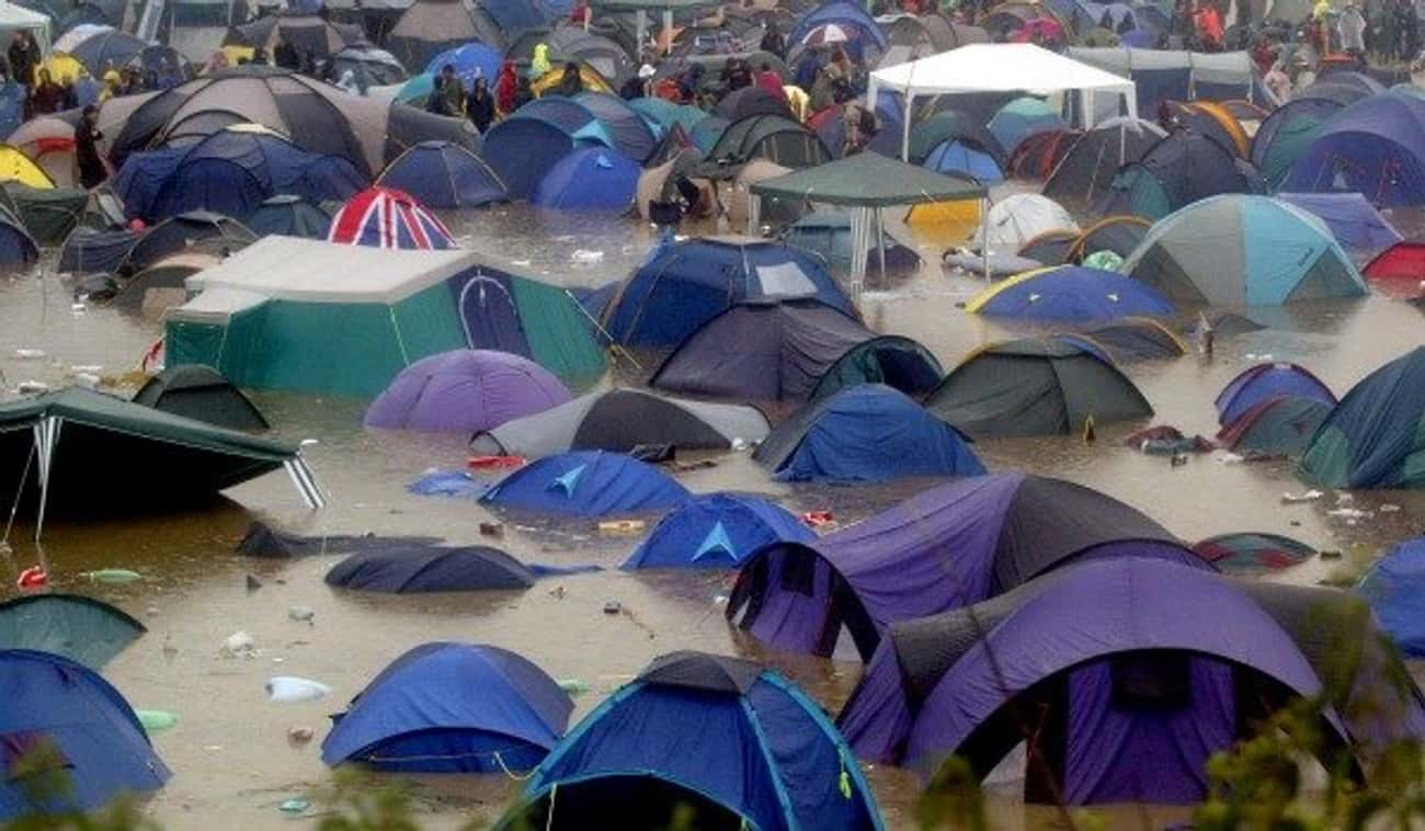 Placement of Your Tent Is Ever is listed (or ranked) 4 on the list 17 Ways To Make Your Music Festival Experience Legendary