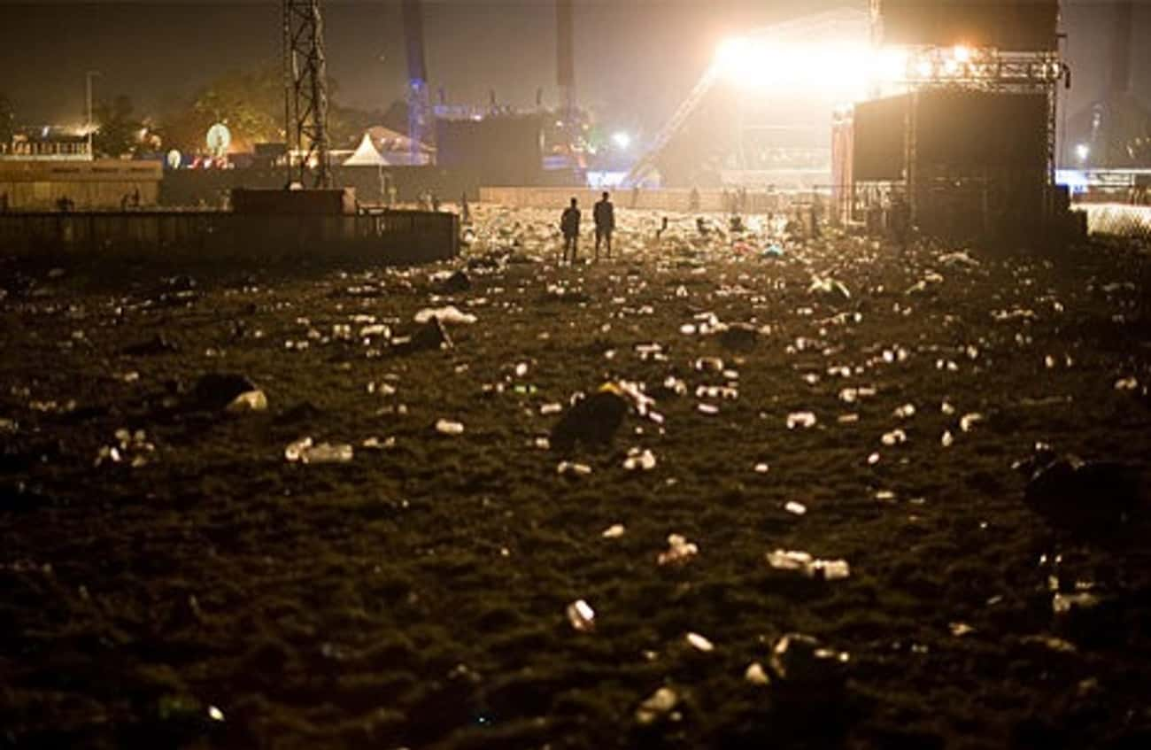 Pick Up Trash and Others Will  is listed (or ranked) 3 on the list 17 Ways To Make Your Music Festival Experience Legendary