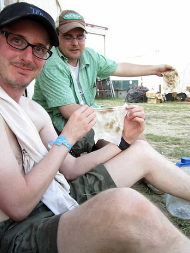 Baby Wipes That Aren't J... is listed (or ranked) 1 on the list 18 Things to Bring to Every Music Festival