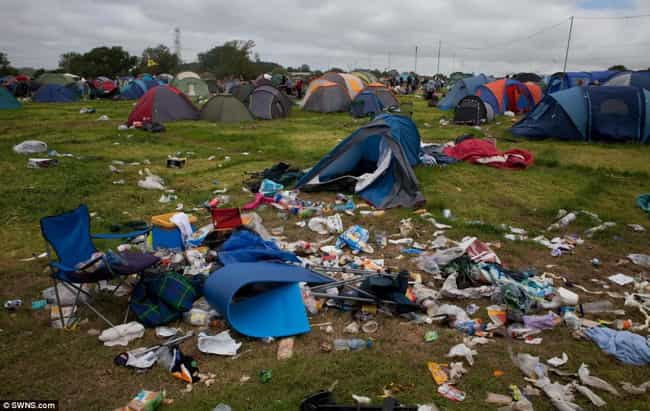 Trash Bags for the Litter Bugs is listed (or ranked) 3 on the list 18 Things to Bring to Every Music Festival