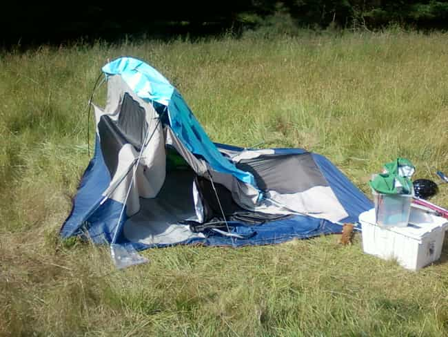 A Tent You'll Actually Wan... is listed (or ranked) 4 on the list 18 Things to Bring to Every Music Festival