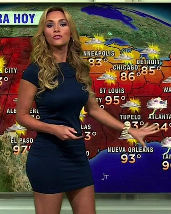 Chita Johnson is listed (or ranked) 2 on the list Bustiest Weather Girls From Around The World