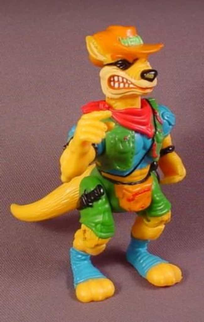 Walkabout is listed (or ranked) 4 on the list The Best TMNT Mutants You Forgot About