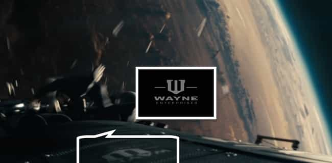 Wayne Enterprises Satell... is listed (or ranked) 4 on the list Easter Eggs from Every DC Based Movie