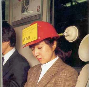 Subway Sleeping Cap is listed (or ranked) 5 on the list 10 Japanese Inventions And Gadgets That Might Be Causing More Problems Than They're Solving